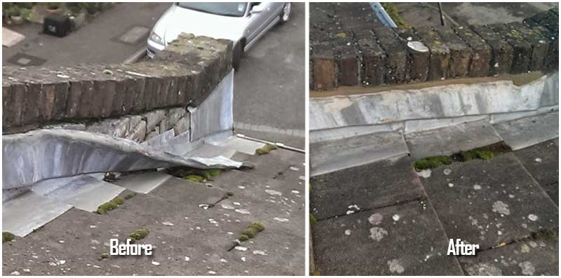 Before and After Roof Repair image