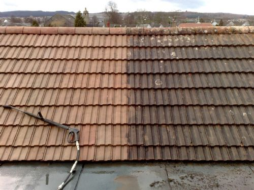 roof cleaning & washing
