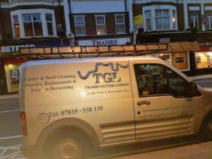 Thames Gutters London Van